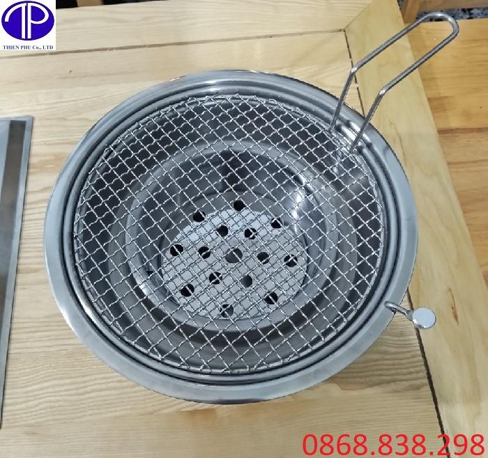 Bếp nướng than hoa hút dương tại Hà Nội