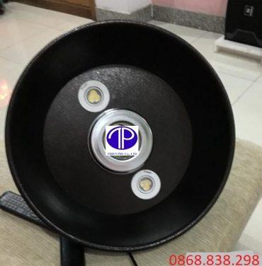 Chao đèn trang tri ống hút khói bếp nướng