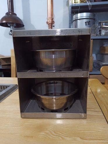 Hộp xách xô than bếp nướng than hoa không khói
