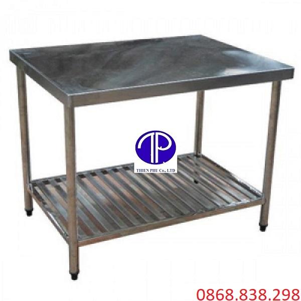 bàn inox 2 tầng nhà bếp - 1
