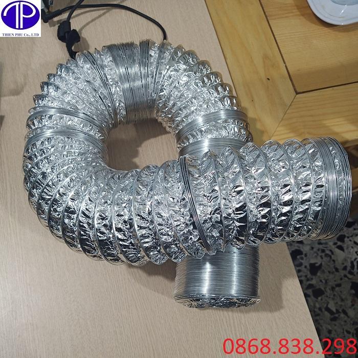 Cung cấp ống gió bạc mềm giá rẻ