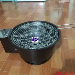 Bếp nướng than hoa âm bàn có quạt thổi giá rẻ