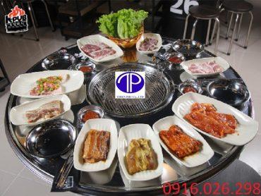 Bàn ăn thùng phuy giá rẻ tại Hà Nội