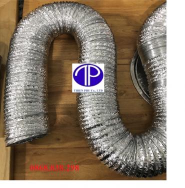 giá bán ống gió bạc mềm d150
