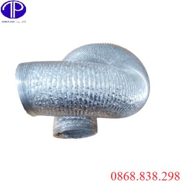 Ống gió bạc mềm D100 giá tốt tại Hà Nội