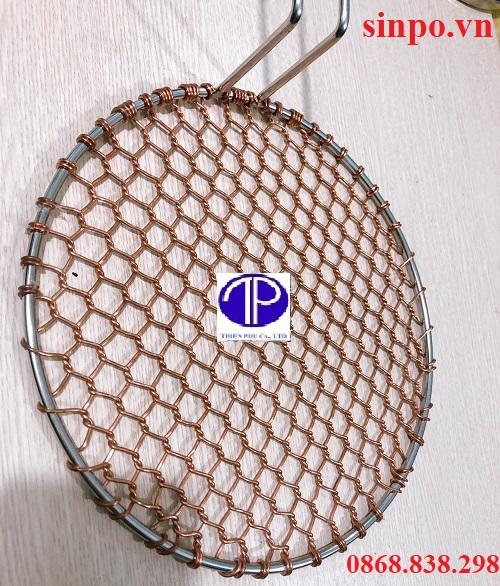 Giá bán vỉ nướng đồng kiểu lưới tại Hà Nội