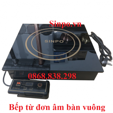 Địa chỉ bán bếp từ đơn âm bàn vuông sinpo HP320