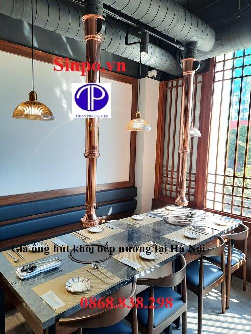 Giá ống hút khói bếp nướng tại Hà Nội