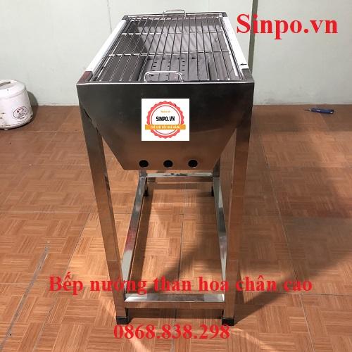 Bếp nướng ngoài trời bằng than