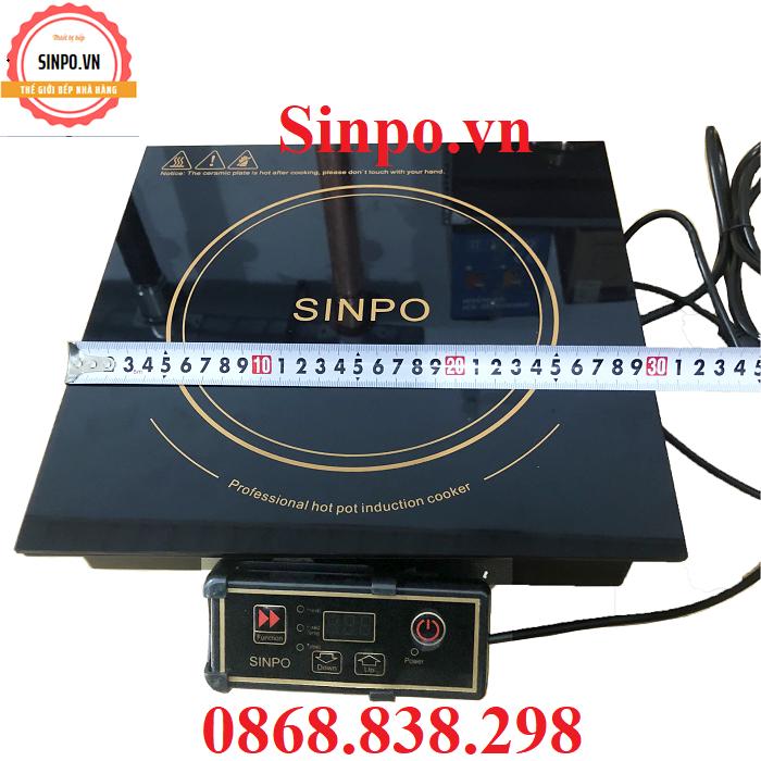 Thông số kĩ thuật bếp từ cho nhà hàng sinpo HP300