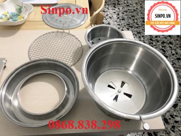 Các bộ phận bếp nướng hút dương giá rẻ tại Đà Nẵng, Bắc Ninh, Tp HCM