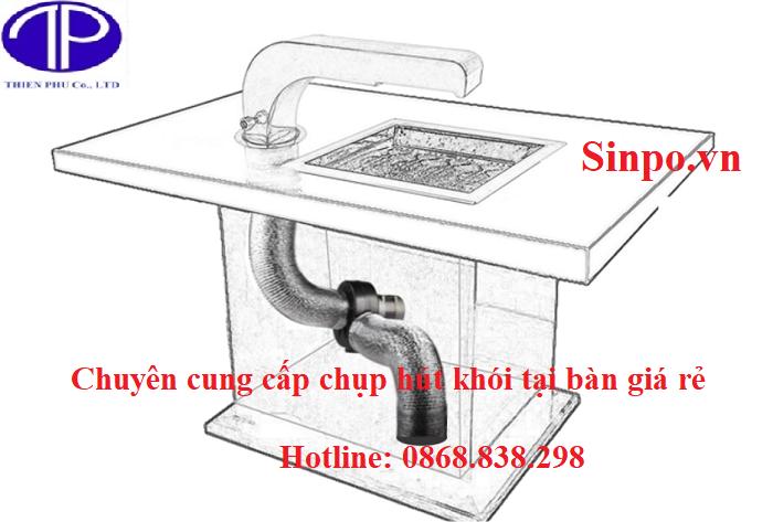 Chuyên cung cấp ống hút khói tại bàn giá rẻ tại Hải Phòng, Thái Nguyên, Bắc Ninh