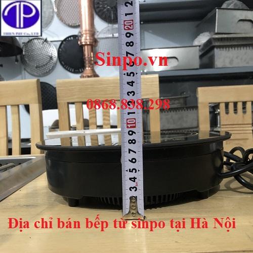 Địa chỉ bán bếp từ sinpo tại Hà Nội và các tỉnh thành