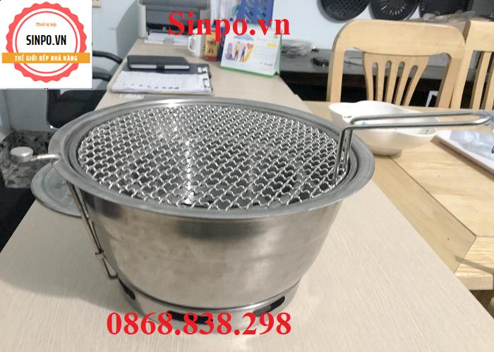 Giá bán bếp nướng than hoa âm bàn hút dương tại Hà Nội, Hải Phòng, Thái Nguyên