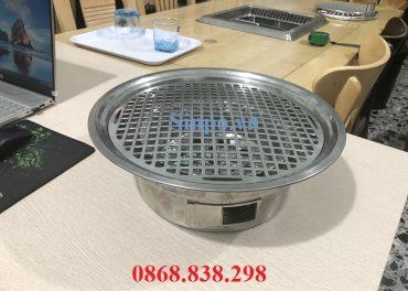 Giá bán bếp nướng than hoa âm bàn giá rẻ tại TP HCM