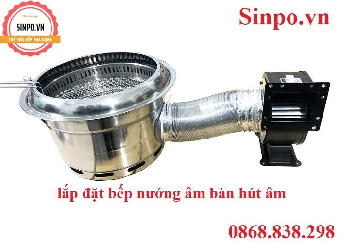 Địa chỉ mua bếp nướng âm bàn hút âm giá rẻ tại Hà Nội
