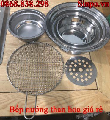 Giá bán bếp nướng than hoa giá rẻ âm bàn