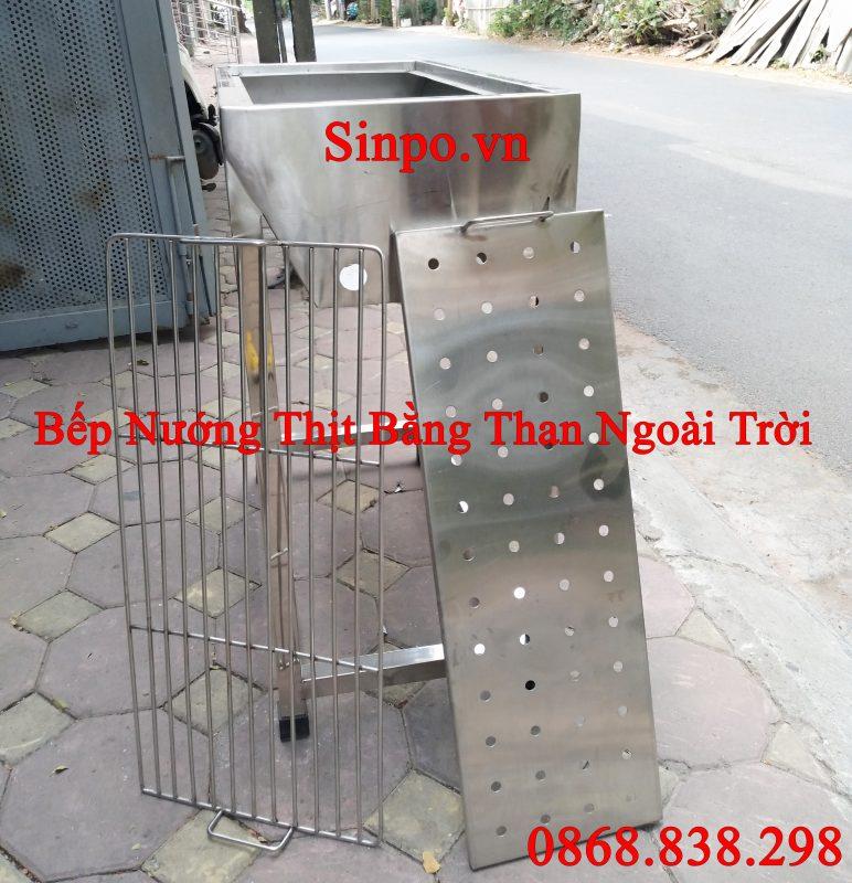 Bếp nướng thịt bằng than ngoài trời giá rẻ tại Hà Nội