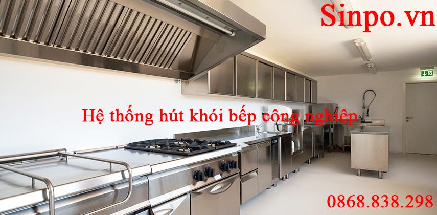 Nhận thi công hệ thống hút khói bếp công nghiệp nhà hàng giá rẻ tại Hà Nội, Hải Phòng,...