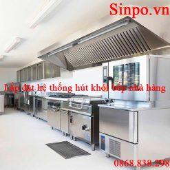 Địa chỉ lắp đặt hệ thống hút khói bếp nấu ăn nhà hàng, quán ăn, gia đình giá rẻ