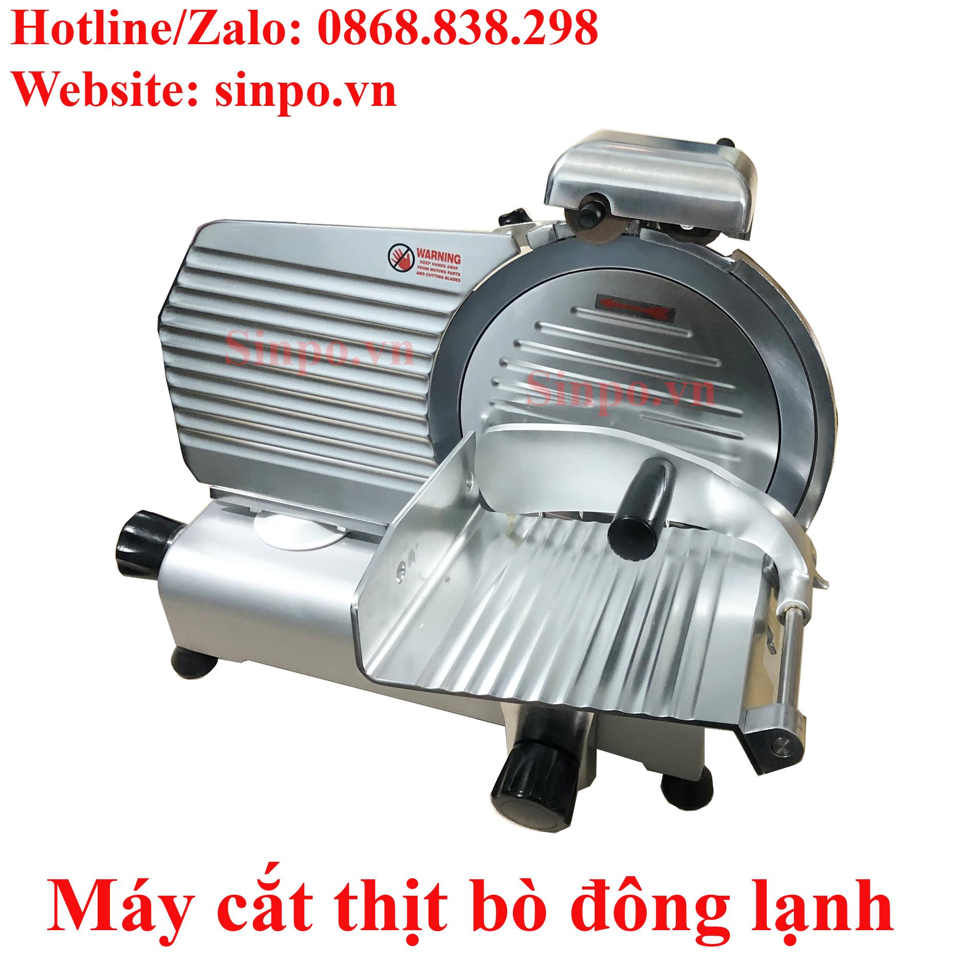 Máy cắt thịt heo đông lạnh