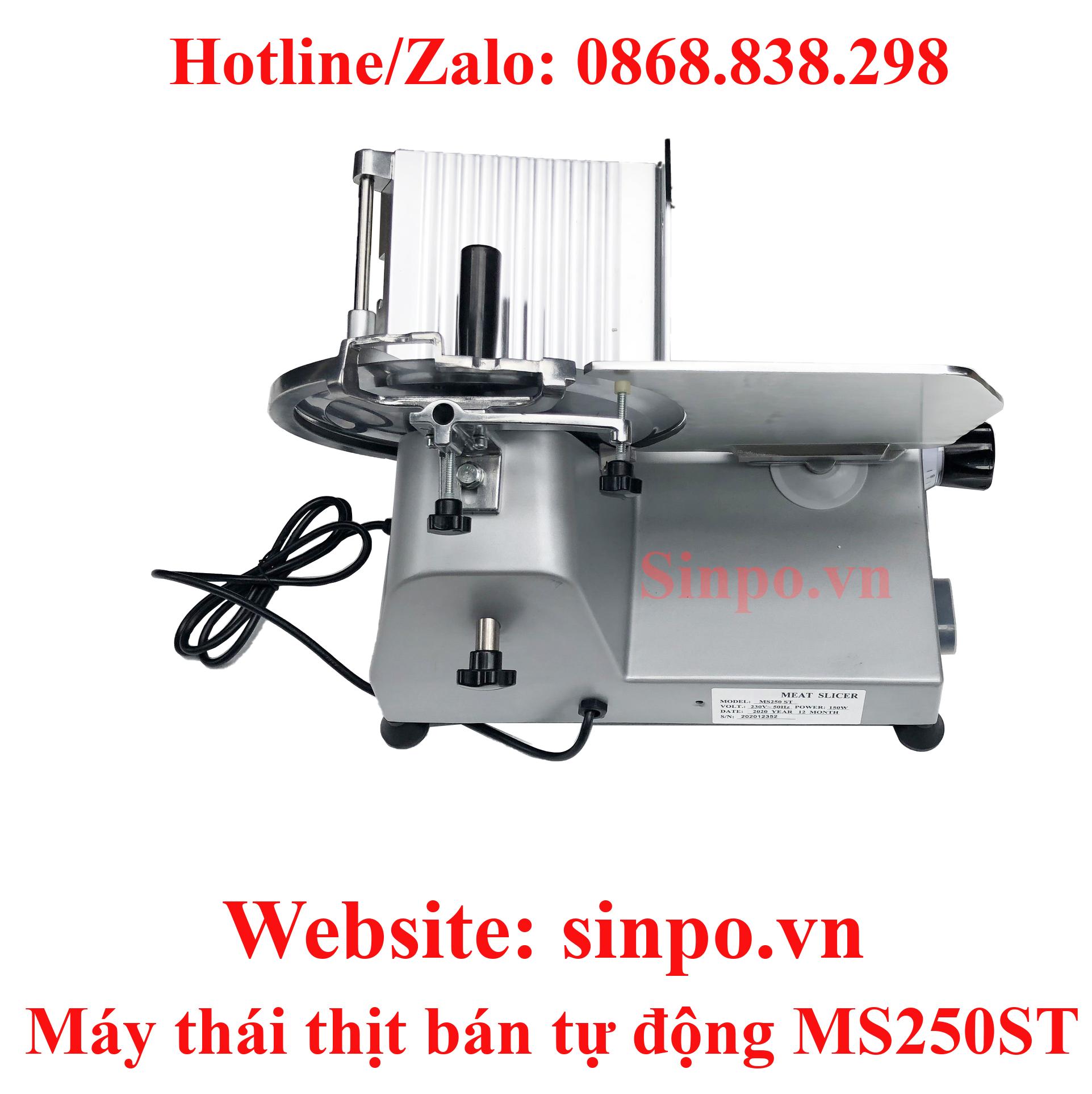 Máy thái thịt bán tự động MS250ST