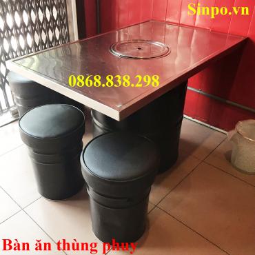 Bàn thùng phi Hà Nội giá rẻ