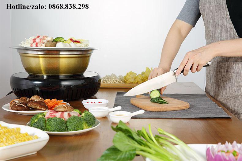 Địa chỉ mua bếp lẩu hơi tỳ hưu tại Hà Nội