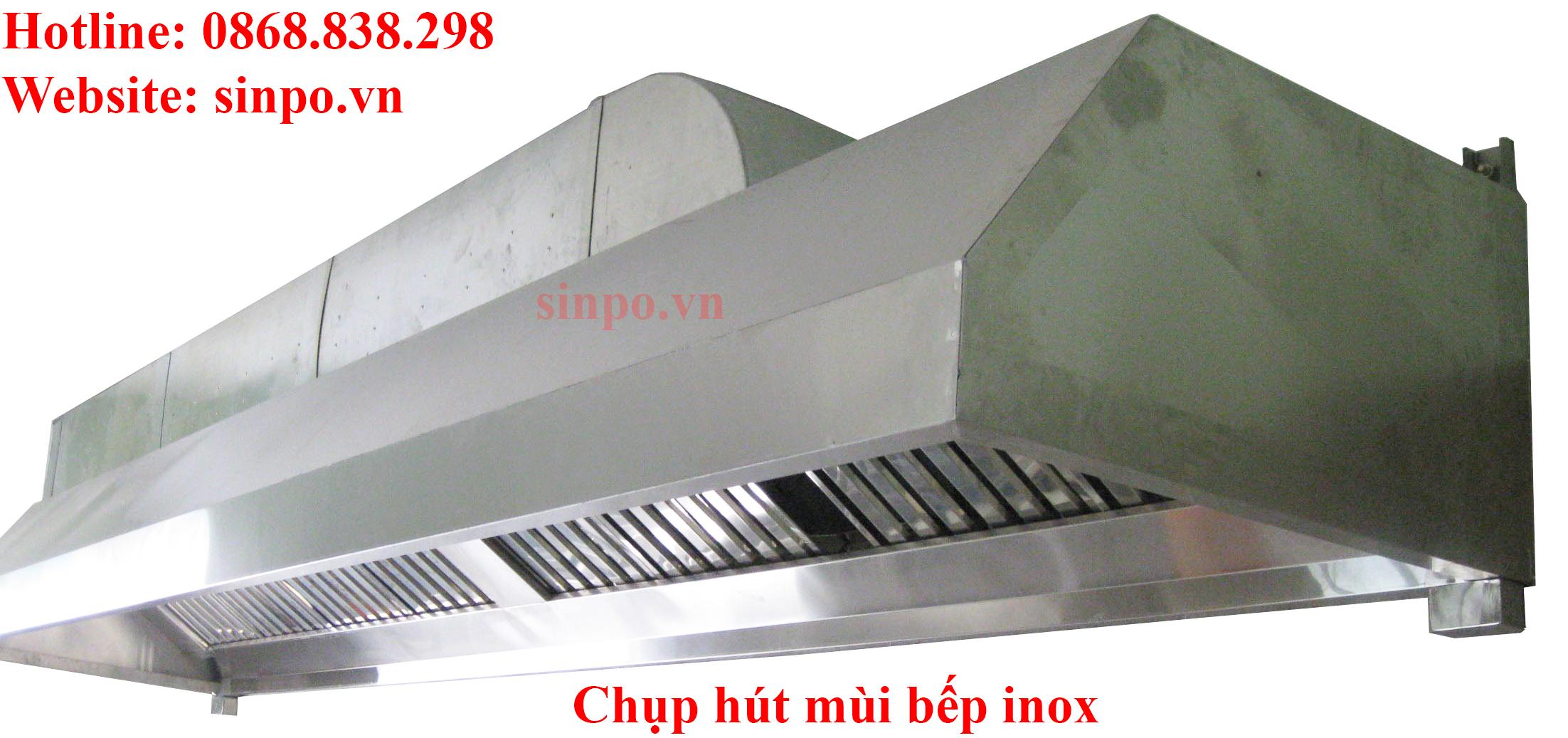 Chụp hút mùi bếp inox