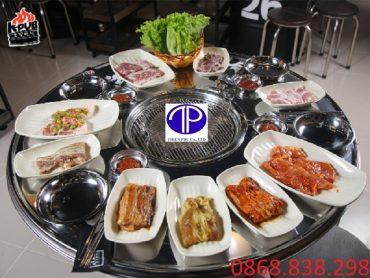 Giá bàn ăn thùng phuy nhà hàng tại Đà Nẫng