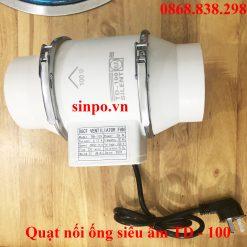 Quạt nối ống siêu âm TD100