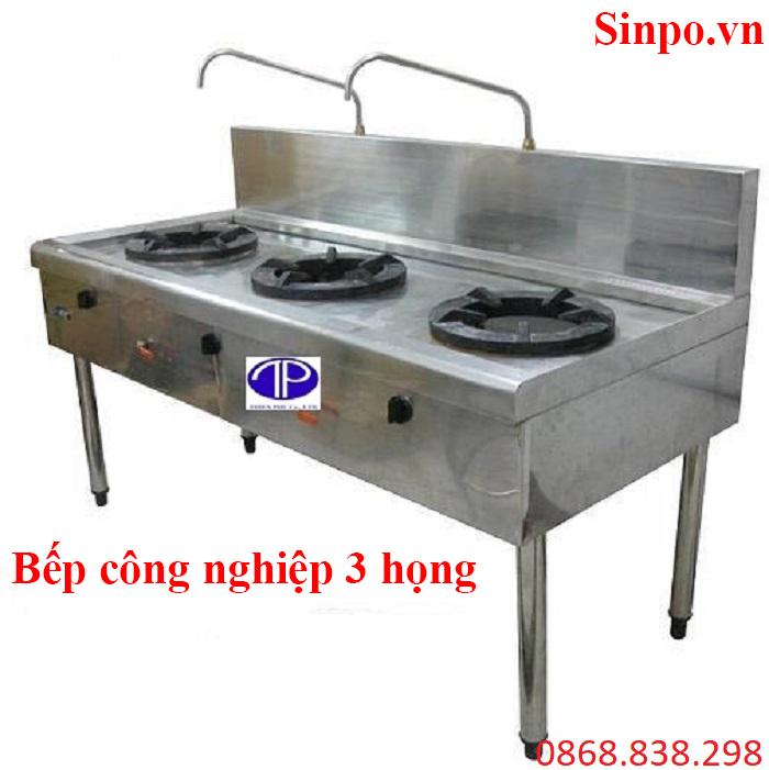 Giá bán bếp công nghiệp 3 họng tại Hà Nội