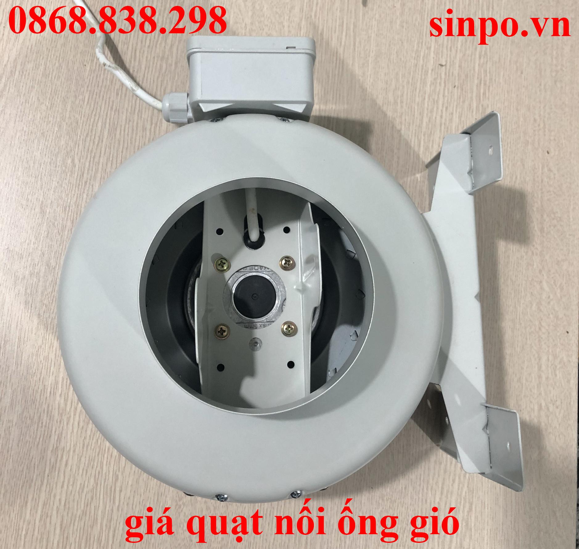 Giá quạt nối ống gió tại Hà Nội, Hải Phòng, Đà nẵng, TP HCM