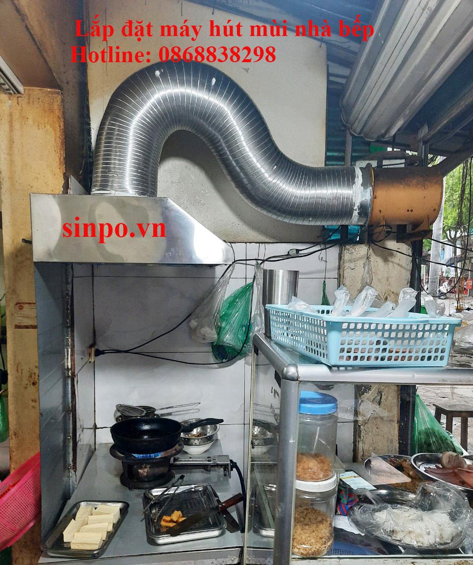 Thi công lắp đặt máy hút mùi bếp gia đình