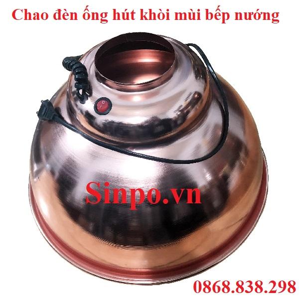 Bán chao đèn ống hút khói bếp nướng tại Hà Nội