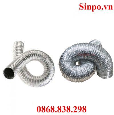 Giá ống nhôm nhún ống bạc mềm