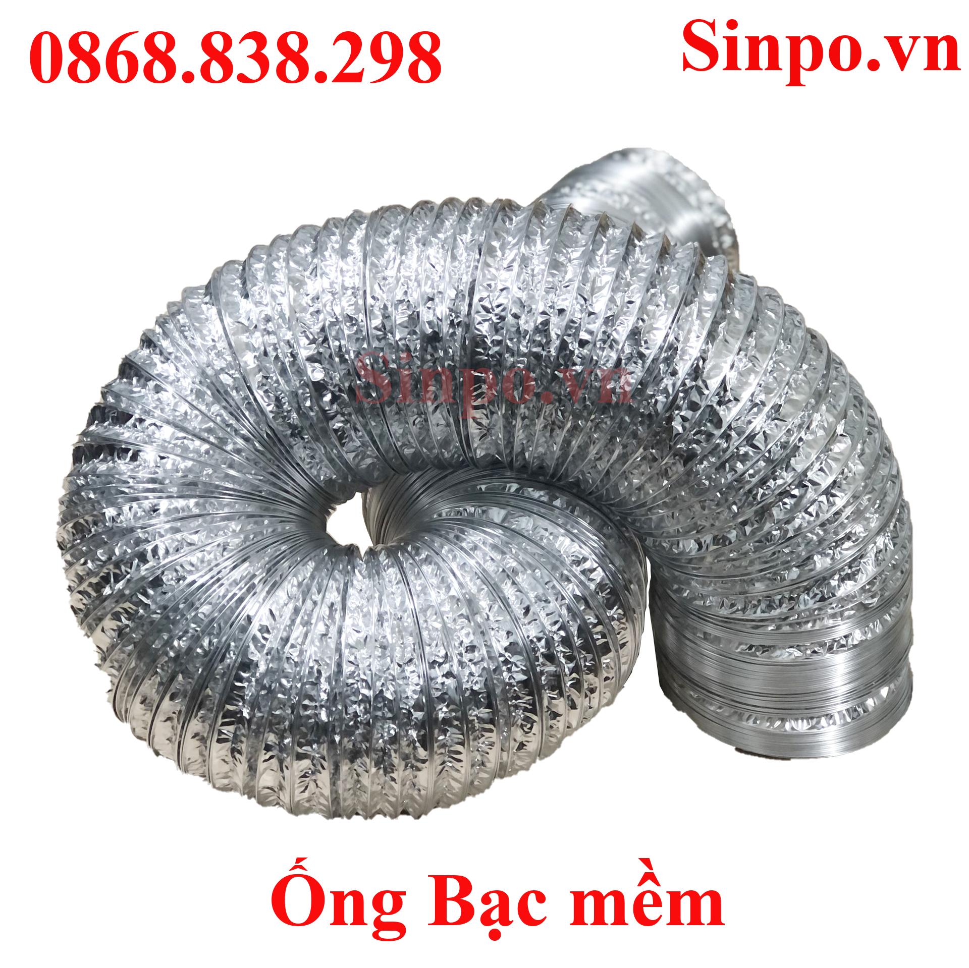 Địa chỉ bán ống gió bạc mềm tại Bắc Ninh
