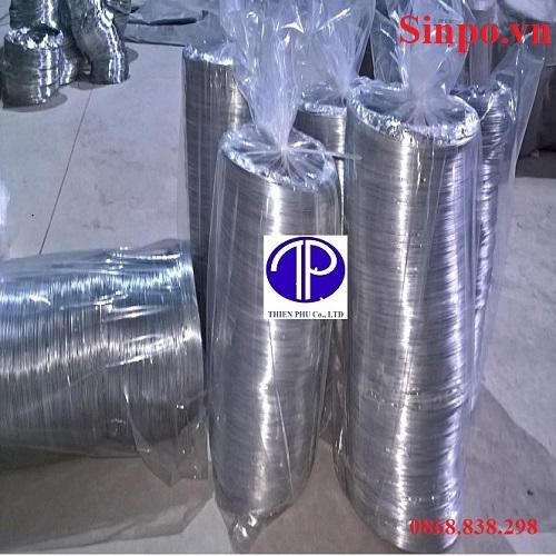 Giá bán ống gió bạc mềm tại Bắc Ninh , Bắc Giang , Hà Nội , Hải Phòng